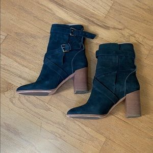 kate spade Blue Suede Boot